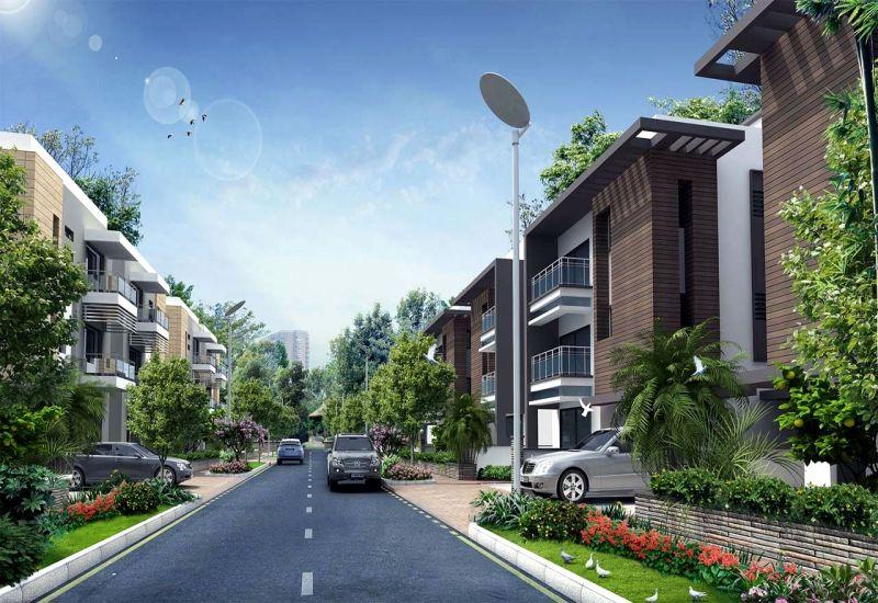 Sobha International City - Internal Road