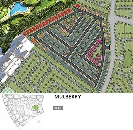Aurum Villas - mulbery plan
