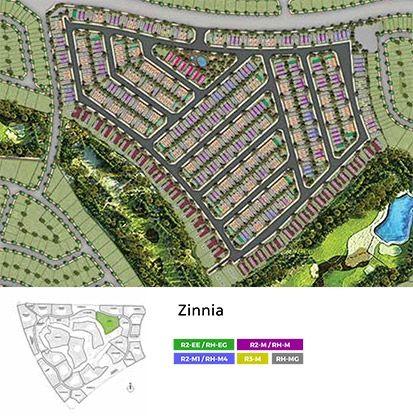 Aurum Villas -  Zinnia flr plan