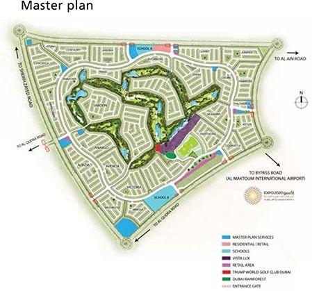 Aurum Villas -  Master Plan