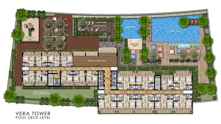 Vera Residences  - Typical flr plan