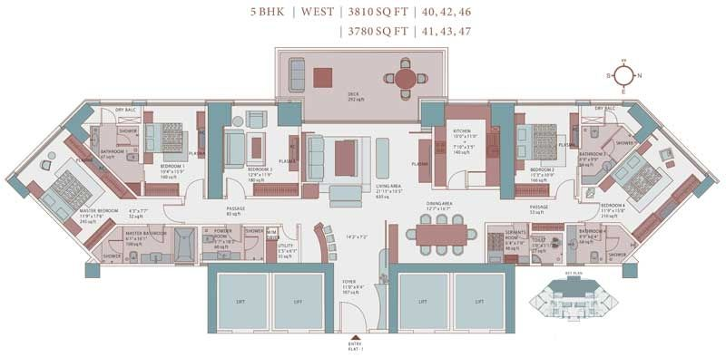 Imperial Towers - 5th flr plan