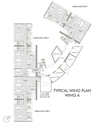 The Park - Wing A Plan