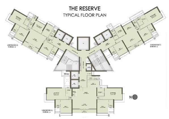 The Reserve - Typical flr plan