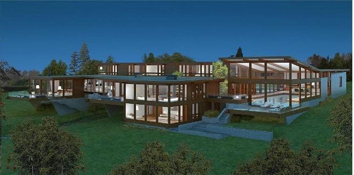 Luxury properties in oxshott uk luxury homes villas for Modern luxury homes for sale uk