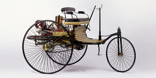 the first car karl benzs patent motor car hits the road