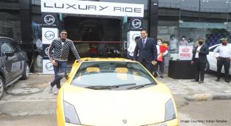 Leading Bollywood Singer Sukhbir Singh Inaugurated Luxury Ride Showroom in Gurugram