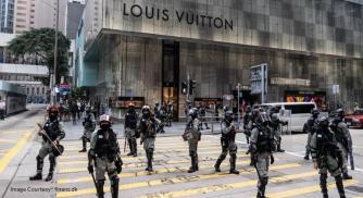 Political unrest is drastically affecting Hong Kong luxury market
