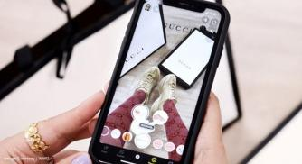 Gucci in conjunction with Snapchat reveals their Try On Shoppable AR Shoes