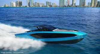 Lamborghini unveils their new USD 3.4 million supercar inspired yacht