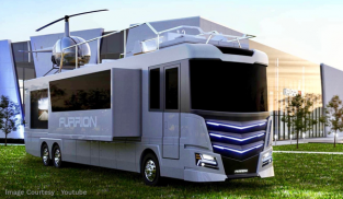 The affluent burn millions for extravagant RVs and land yachts this summer