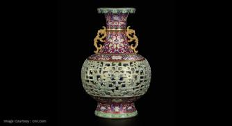 Chinese Vase Originally Sold For USD 56 Resells at USD 9 Million - Talk About ROI!!