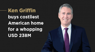 Ken Griffin buys costliest American home for a whopping USD 238M