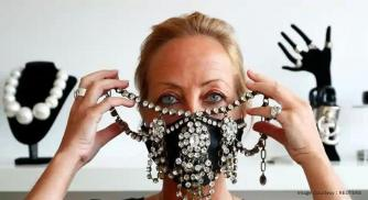 Turning Precaution Into Luxury Fashion- Designer Luxury Face Masks From Belgium