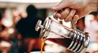 How to Brew a Luxe Ice Coffee at Home, Using a French Press