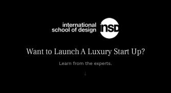 Want to Launch A Luxury Start Up? Learn From International School of Design, New Delhi