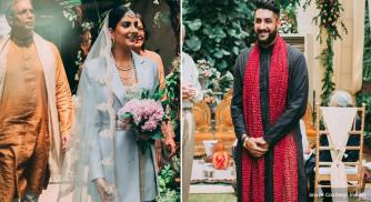 Meet The Modern Indian Bride Who Wore A Pantsuit To Her Wedding