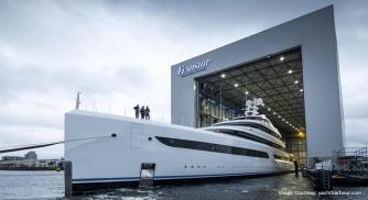 Feadship's New Yacht: Project 816 hits Amsterdam Waters
