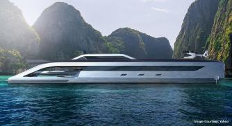 With Space For Two Helicopters & A Live Concert The BOSS is a Superyacht Indeed