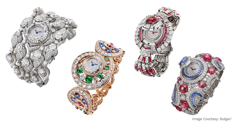 The Magnifica High Jewelry Luxury Watches And Brand New Octa Roma Models by Bulgari Are Delightfully Exotic