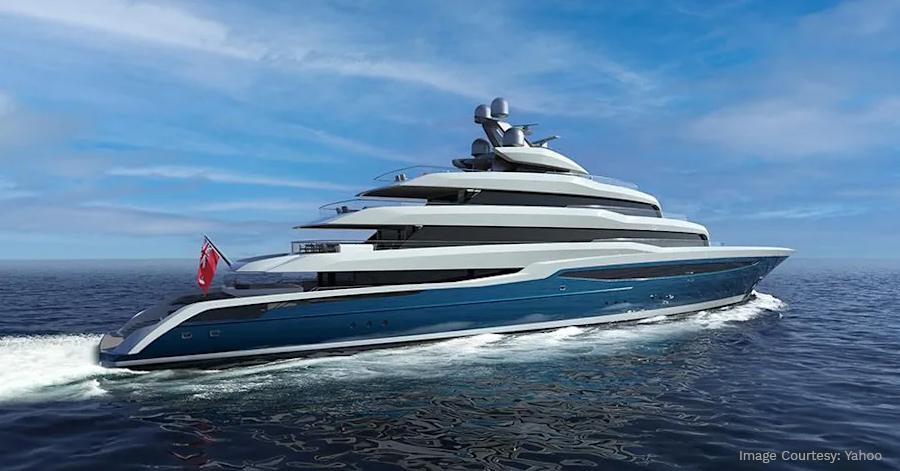 Designed by UK studio Harrison Eidsgaard The 276 Foot Superyacht Project Atlas by Turquoise Yachts Spells Luxury Throughout