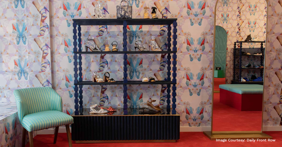 Luxury Shoe Brand Christian Louboutin Unveils A 1200 Square-foot Pop-up Boutique in Southampton