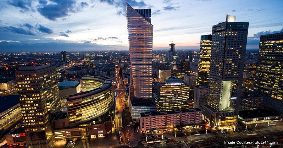 The Highest Apartment Building in The European Union Zlota 44 Redefines Luxury Real Estate in Warsaw, Poland