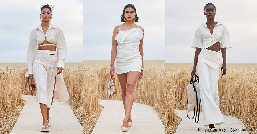 Jacquemus S/S 2021 Happened Amidst a Pandemic...On a Field of Wild Wheat