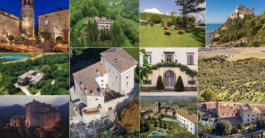 10 Best Luxury Castle Rentals in Italy