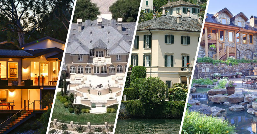 Top 5 Hollywood Homes We All Love