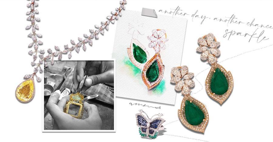 Amaris Jewelry by Prerna Rajpal Goes Online