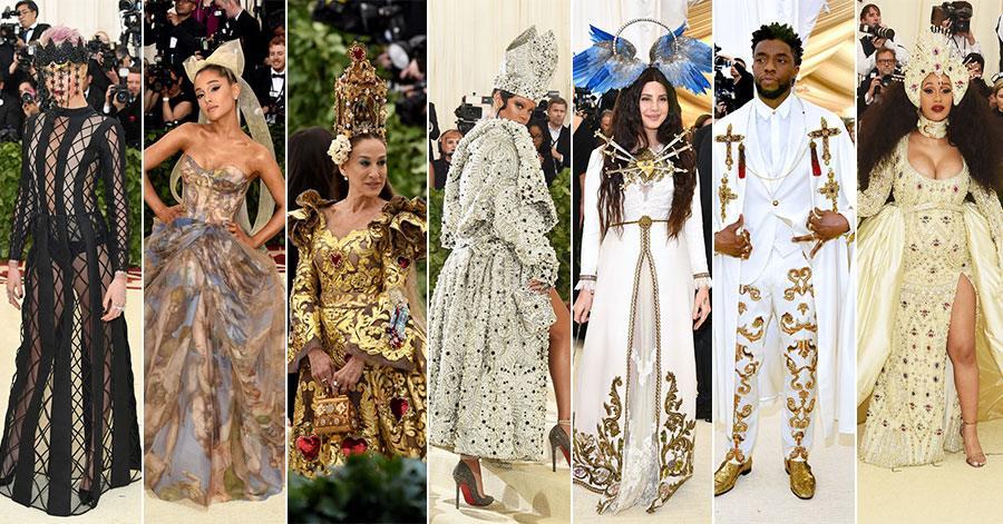 Seven Best Dressed Picks : Met Gala 2018