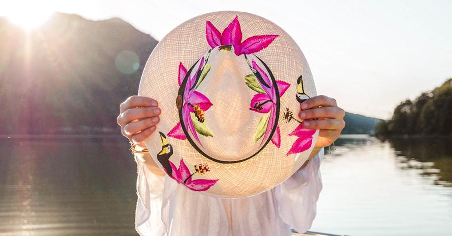 Tropical Lifestyle Brand 'Colombianas' Signature Line Of Panama Hats Raises The Bar For Fashion Accessories