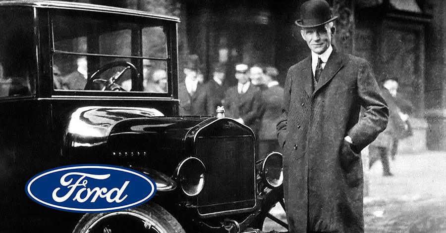 The stunning brand story of Ford