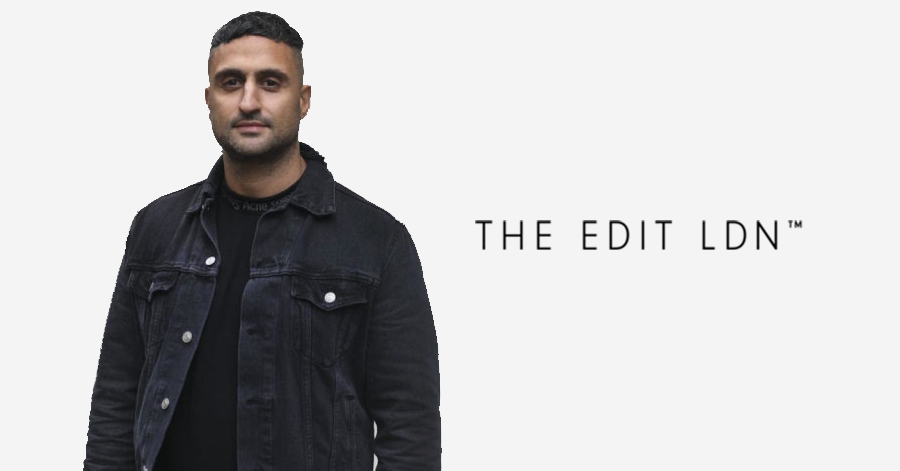 Online Store For Limited Edition Sneakers And Streetwear The Edit Man London,  Rebranding Itself